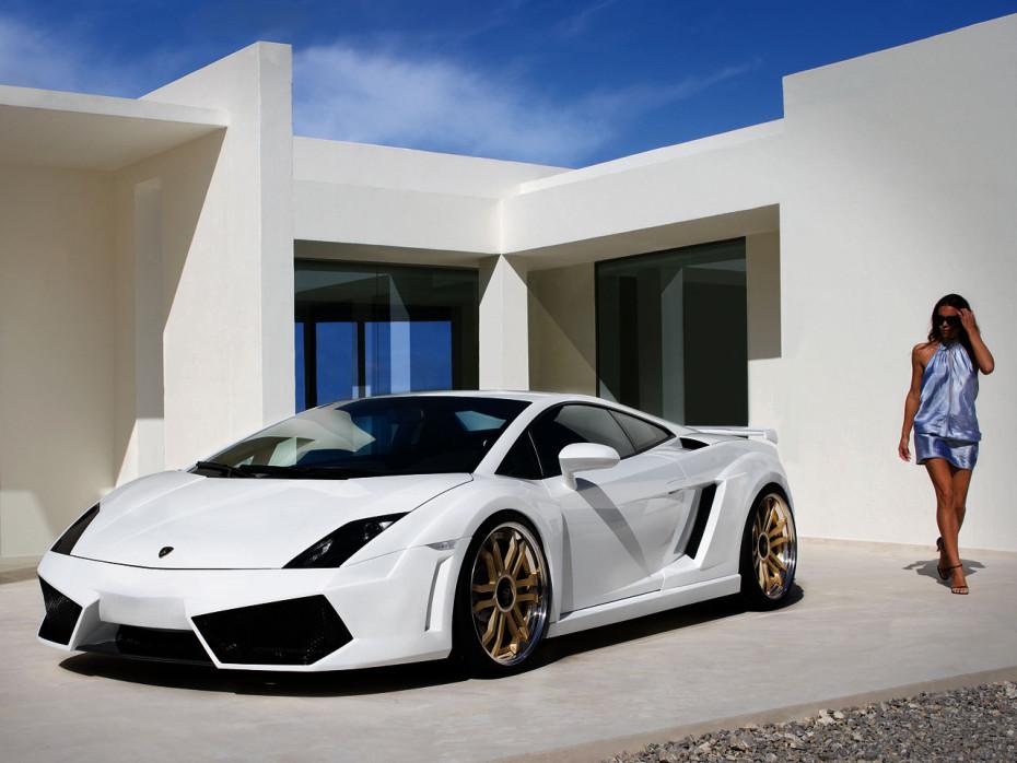 Anderson Lamborghini Gallardo White Racing Edition