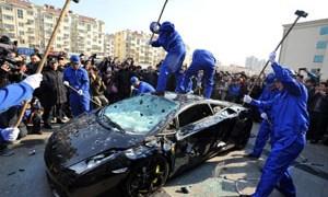 Angry Lamborghini Owner