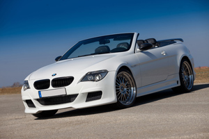 Lumma Design Styles the BMW E64 6 Series Convertible