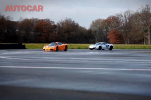 McLaren MP4-12C vs McLaren F1 Video