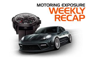 MotoringExposure Weekly Recap