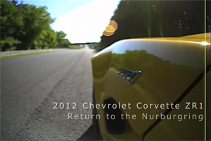Chevrolet Corvette ZR1 Video