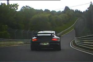 Porsche 911 GT2 vs Mitsubishi Evolution at the Nürburgring