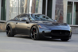 Anderson Germany Maserati GranTurismo Superior Black Edition