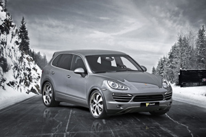 Schmidt Revolution Porsche Cayenne Snow Wheels