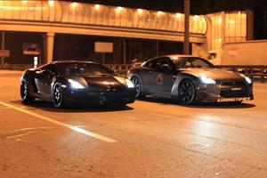 Alpha 12/AMS GT-R vs Underground Racing Twin-turbo Lamborghini Gallardo