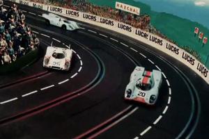 1970 24 Hours of Le Mans Slot Car Video