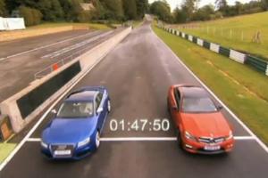 Mercedes-Benz C63 AMG vs Audi RS5 - Video