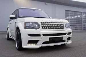 Hamann Motorsports Range Rover Supercharged Tuning
