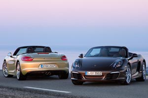 The all-new 2013 Porsche 981 Boxster and Boxster S Exposed