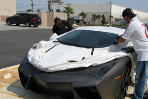 Lamborghini Reventon Delivery Pictures