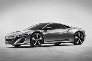 The Acura NSX Concept – Honda's Hybrid Super Car