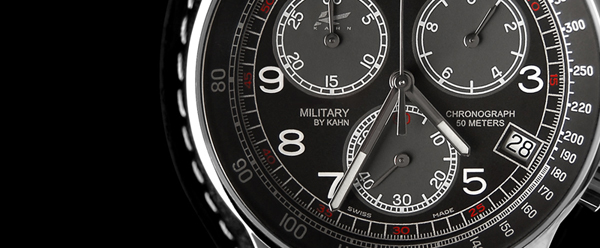 Kahn Design Military Watch