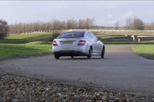 Mercedes-Benz C63 AMG Spare Tire Video