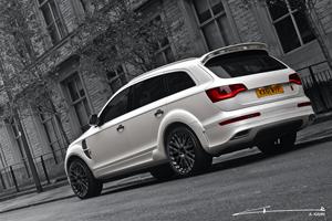 A Kahn Design Imperial Blue Cosworth Edition Range Rover