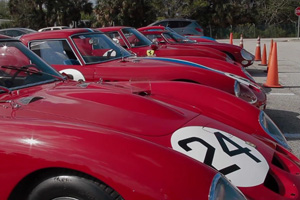Watch Classic Ferrari GTOs and more at the Concours d'Elegance