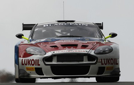 Valmon Racing Team Russia Aston Martin DBRS9 No.6