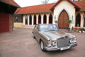 The Väth W109 300 SEL 6.3 is a Fully Restored Beauty