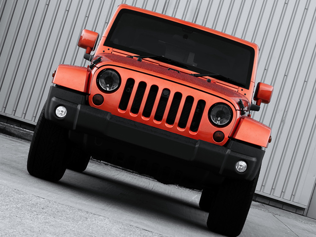 Copper Jeep Wrangler Military Edition