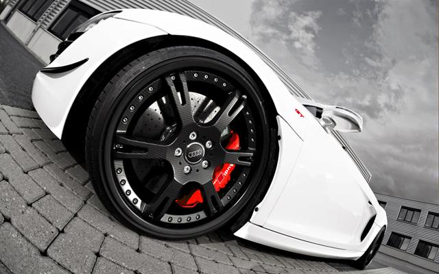 wheelsandmore Audi R8 GT Spyder Triade Bianco