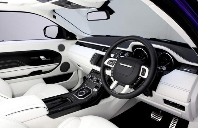 Overfinch Evoque GTS Interior