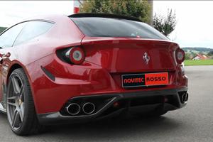 Novitec Rosso Ferrari FF Exhaust
