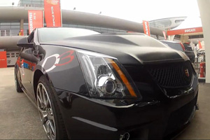Watch the D3 Cadillac CTS-V Coupe tear up the Shanghai F1 Circuit