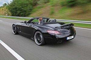 Väth Supercharged SLS AMG Roadster