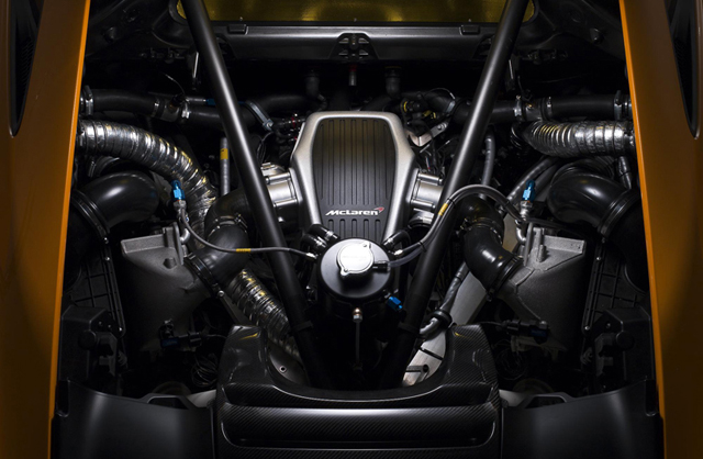 MP4-12C Can Am Engine