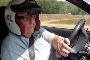 A 91-year old Grandmother teaches us how to Rally-X