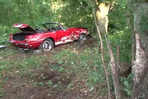 Friday Fail: A $600k+ Vintage Ferrari Crash
