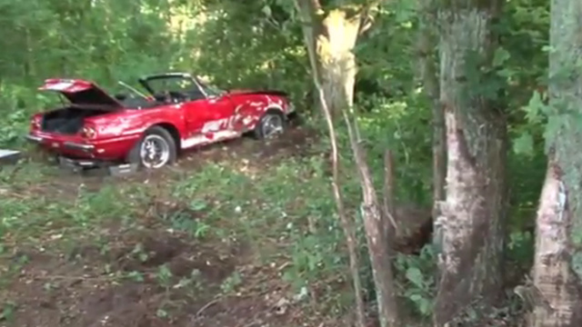 Friday Fail: A $600k+ Vintage Ferrari Crash