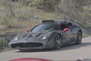 Ferrari F70 Spy Video