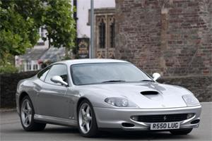 Afzal Kahn's first Ferrari