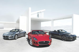 Jaguar F-Type Range