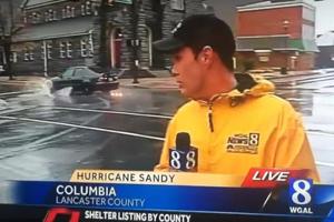 Hurricane Sandy Drift