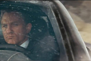 James Bond Car Chase