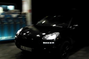 Porsche Macan spy