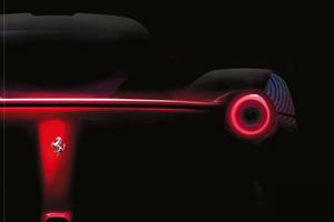 Ferrari F70 teaser