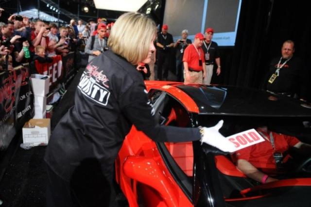 Barrett Jackson Corvette Auction