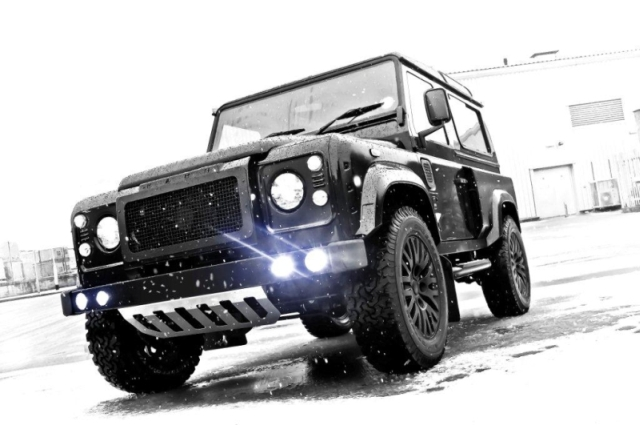 A Kahn Design Land Rover Defender