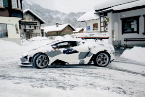 Jon Olsson and his other Exotic Snowmobile