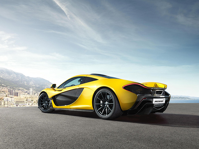 McLaren P1 super car