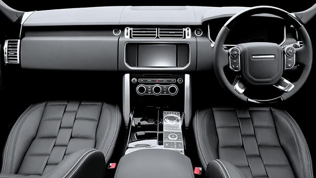 A Kahn Design Range Rover Vogue Interior