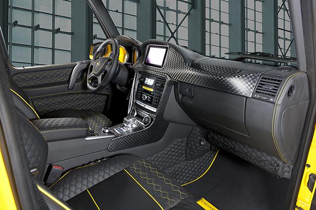 Mansory Gronos G63 AMG Interior