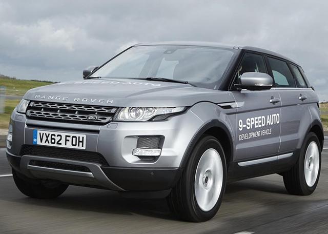 Land Rover ZF nine-speed