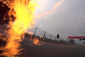 TT Murcielago flames