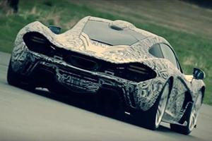 McLaren P1 Test Drive