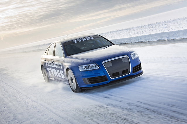 MTM and Nokian Ice Speed Record