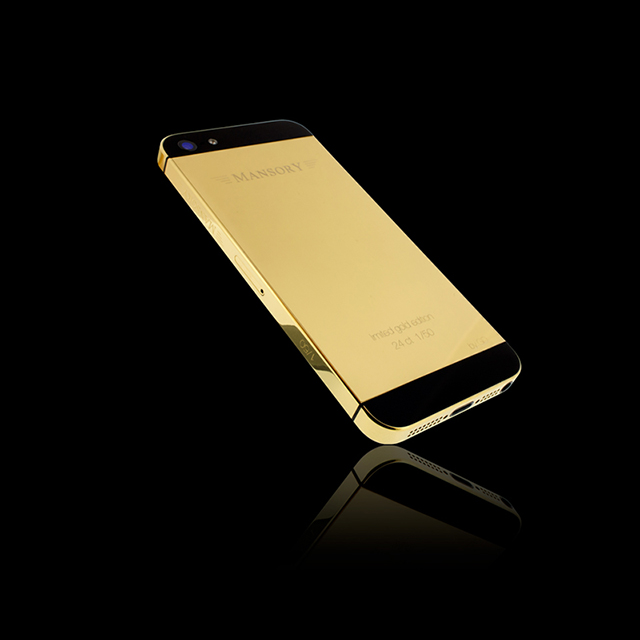 24-Carat iPhone 5 by Mansory and Golden Dreams24-Carat iPhone 5 by Mansory and Golden Dreams